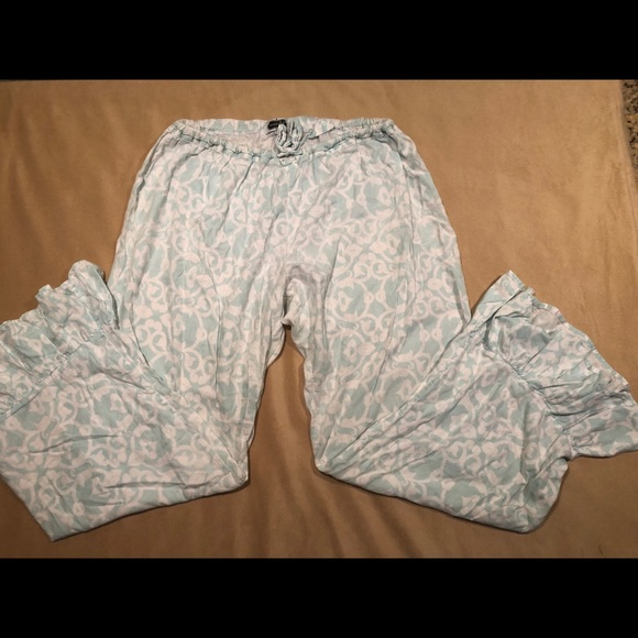 Size Small Pink//Green Shell Design Mud Pie Pajama Boxers NWT